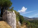 Rovine della città di Norba, torrione megalitico