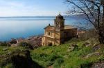 Scorcio panoramico dalla Rocca di Trevignano