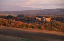 Valle del Marta-Castello di Pian Fasciano al tramonto 1 MINLB