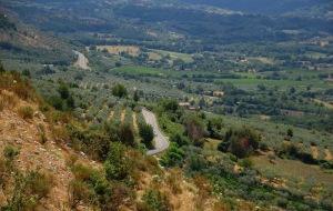 Paesaggio fra Piglio e Acuto