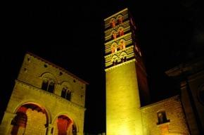 Illuminazione artistica in Piazza San Lorenzo