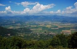 Conca di Rieti-Veduta dai Mti Sabini