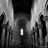 Interno della Chiesa di Santa Maria Nuova a Viterbo