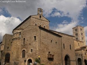 Anagni-Piazza Innocenzo III, scorcio