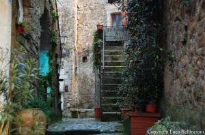 Calcata-Vicolo de Il Granarone