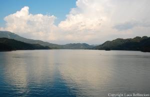 Lago del Salto-Panorama dalla diga