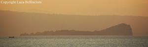 Lago di Bolsena-Tramonto sull'Isola Bisentina