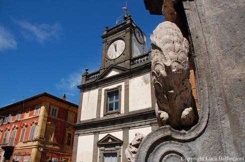 Campagnano Romano-Piazza, scorcio 1 RCRLB