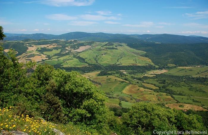 Mti della Tolfa-Mte Piantangeli, panorama 9 RCRLB
