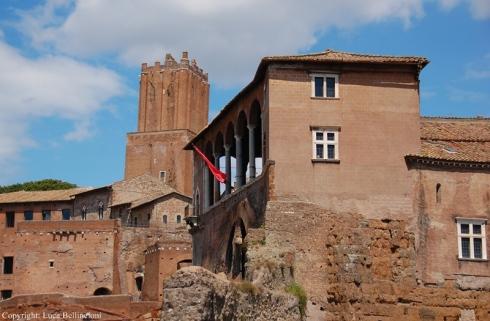Roma-Palazzo dei Cavalieri di Rodi, loggia RCRLB