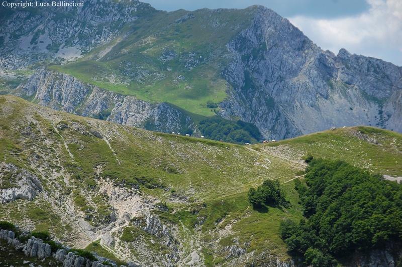 Mti Reatini-Mte di Cambio, scorcio lungo il sentiero 5 RCRLB