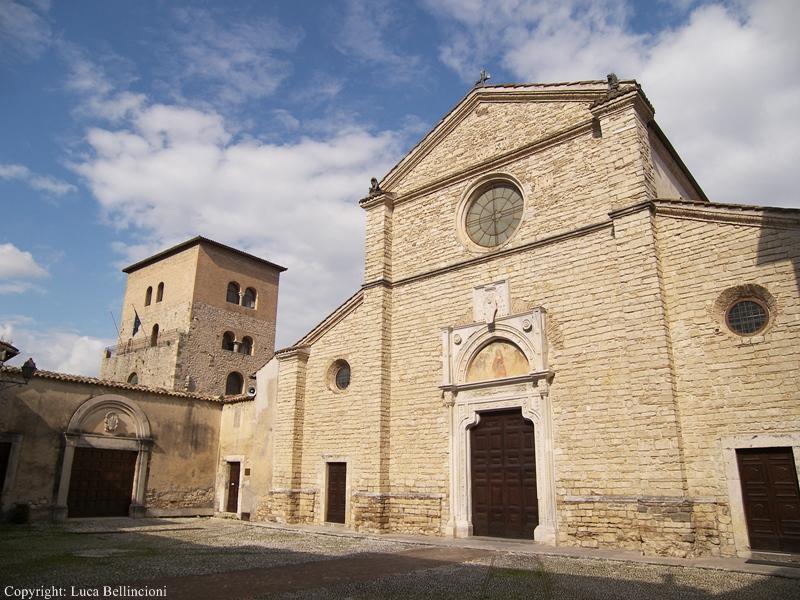 Abbazia di Farfa-Chiesa di S. Maria, facciata 1 RCRLB